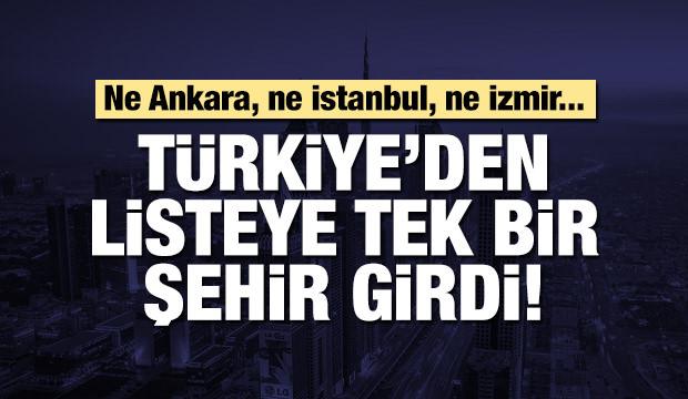 Dünyanın yaşanabilir illeri arasına Türkiye'den bir yer!