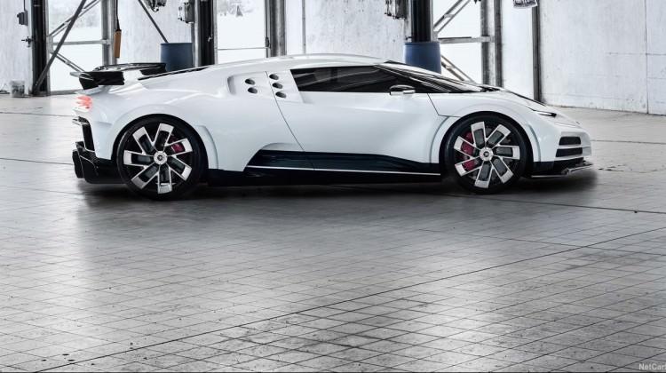 50 milyon TL'lik Bugatti Centodieci görücüye çıktı!