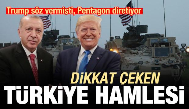 Trump söz vermişti, Pentagon diretiyor! Dikkat çeken Türkiye hamlesi