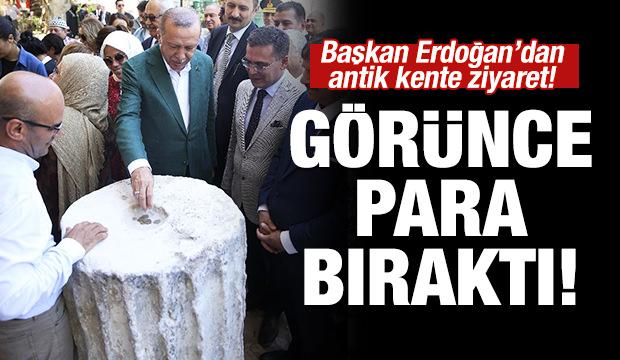 Başkan Erdoğan Stratonikeia Antik Kenti'ni gezdi