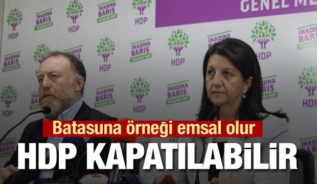 Batasuna emsal olup HDP kapatılabilir