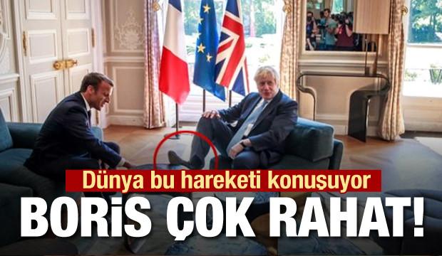 Dünya İngiltere Başbakan'ı Boris'in yaptığını konuşuyor