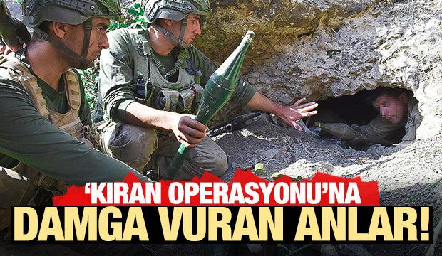 En dikkat çeken fotoğraflarla 'Kıran Operasyonu'
