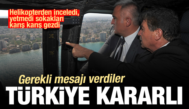 Sokakları karış karış gezdi! Gerekli mesajı verdiler: Türkiye kararlı