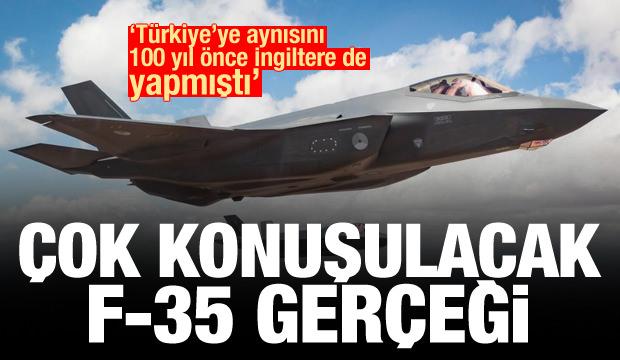 Rusya'da çarpıcı F-35 haberi! 100 yıl önce de İngiltere Türkiye'ye...