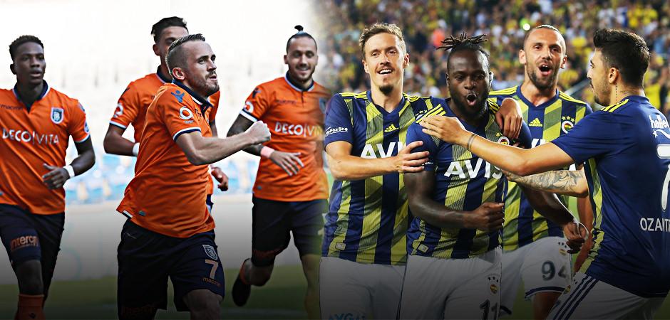Başakşehir - Fenerbahçe maçında ilk 11'ler