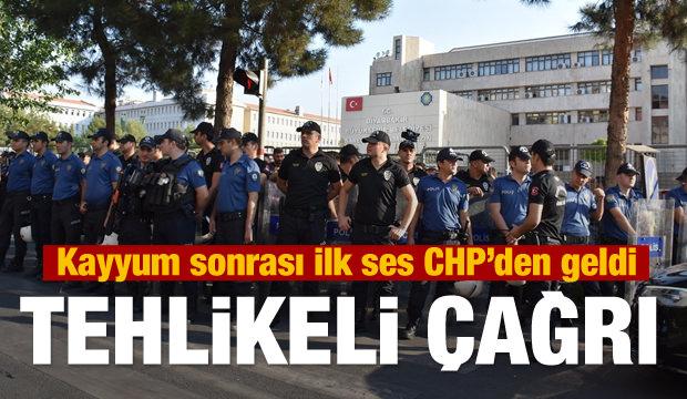 Kayyum sonrası HDP'den iç şavaş çağrısı! CHP'den destek