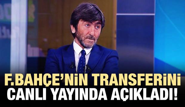 Rıdvan Dilmen, F.Bahçe'nin transferini duyurdu!