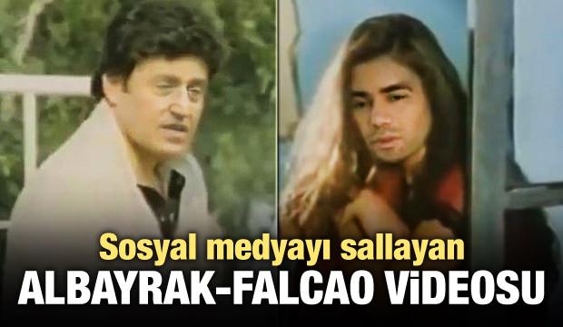 Sosyal medyayı sallayan Albayrak - Falcao videosu!