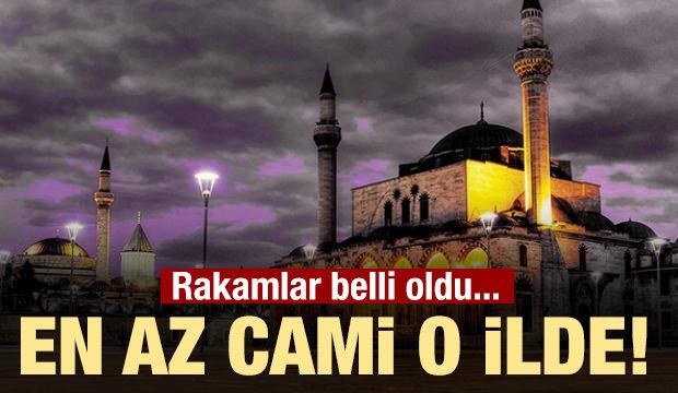 Türkiye'de il il cami sayısı!