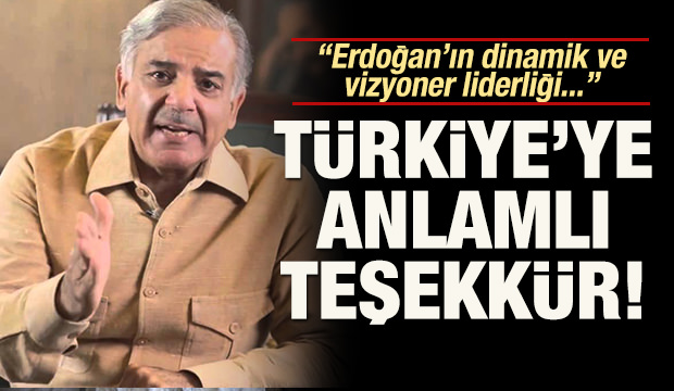 Türkiye'ye teşekkür etti: 'Erdoğan'ın dinamik ve vizyoner liderliği..'