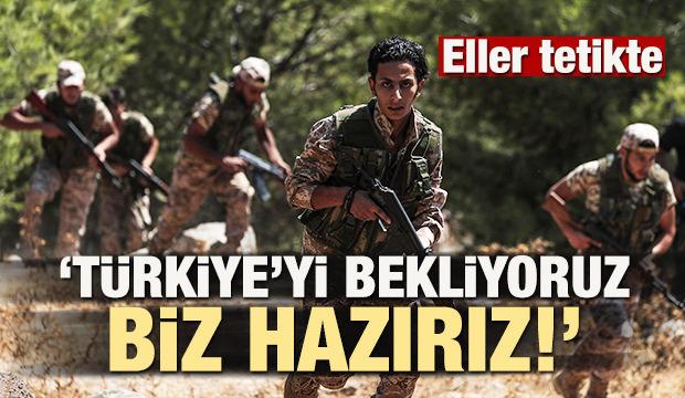 'Türkiye'yi bekliyoruz, biz hazırız!'