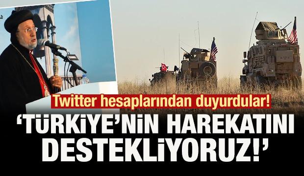 Twitter'dan duyurdular: 'Türkiye'nin harekatını destekliyoruz!'
