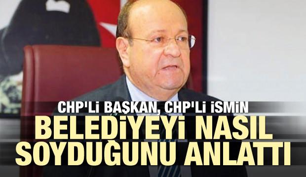 CHP'li Atay, CHP'li Özakcan'ın belediyeyi nasıl soyduğunu anlattı