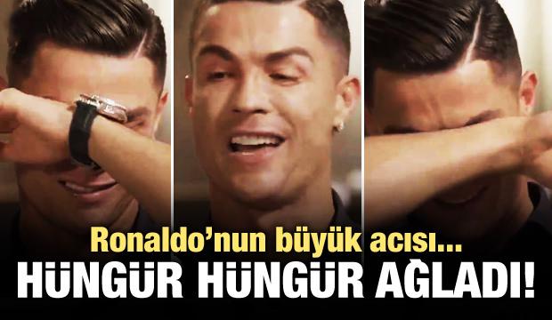 Ronaldo'nun baba acısı! Hüngür hüngür ağladı!