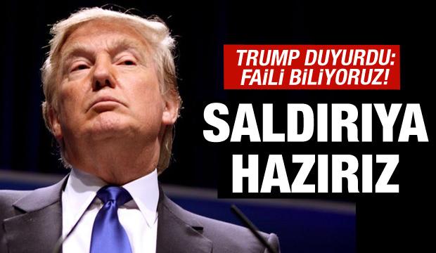 """ABD Başkanı Trump'tan """"muhtemel bir saldırıya hazırız"""" mesajı"""