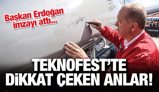 Cumhurbaşkanı Erdoğan TEKNOFEST İstanbul'da