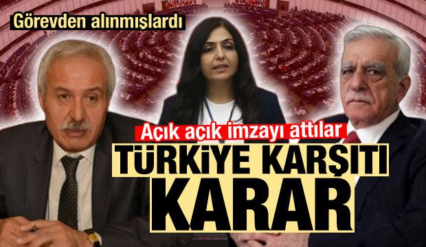 Görevden alınmışlardı! AB'den Türkiye karşıtı karar! İmzayı attılar