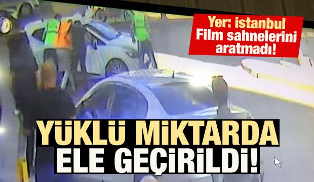 İstanbul'da film sahnelerini aratmayan kovalamaca!