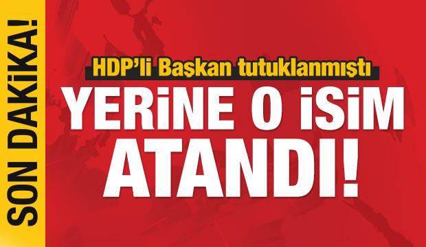 Son dakika haberi: Tutuklanan HDP'li Başkan'ın yerine kaymakam atandı!