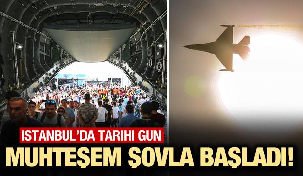 TEKNOFEST İstanbul 2019 başladı! İlk fotoğraflar...