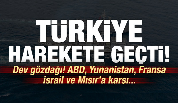 Türkiye harekete geçti! Dev gözdağı...