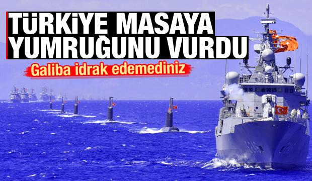 Türkiye masaya yumruğunu vurdu: Galiba idrak edemediniz