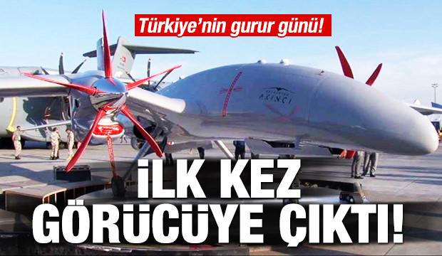 Türkiye'nin gurur günü! İlk kez görücüye çıktı