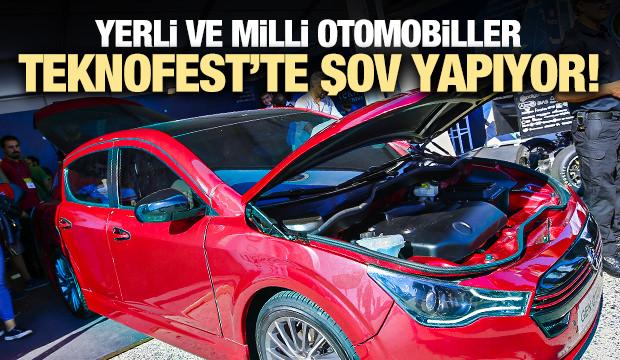 Yerli ve milli otomobiller Teknofest'te!