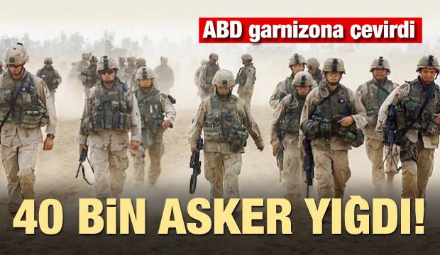 ABD garnizona çevirdi! İran bahanesiyle 40 bin asker yığdı