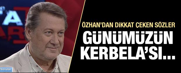 Ahmet Özhan günümüzün Kerbela'sını anlattı