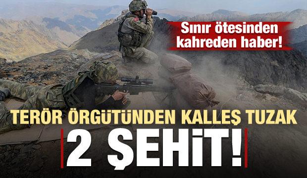 Son dakika haberi: Terör örgütünden kalleş tuzak! 2 asker şehit oldu