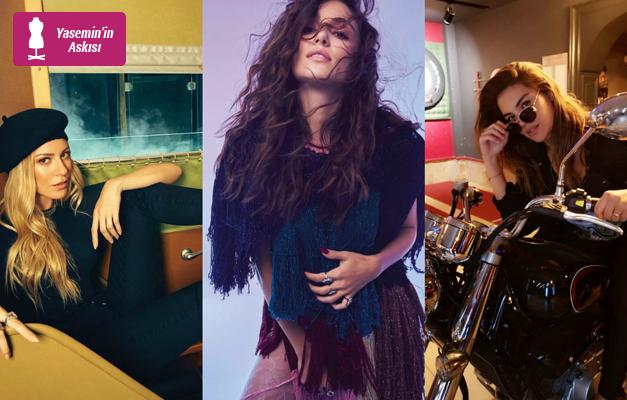 Haftanın en şık ünlü kadınları belli oldu!