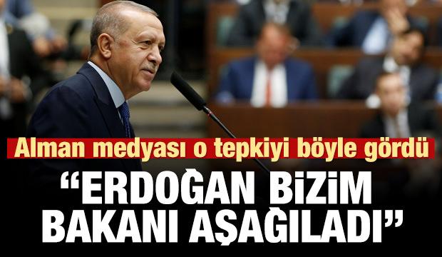 Alman basını: Erdoğan Maas'ı aşağıladı