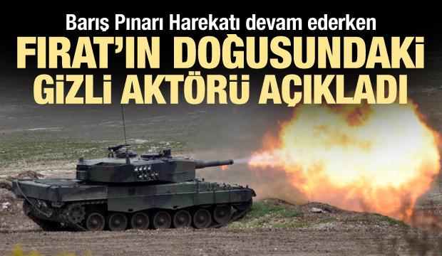 Barış Pınarı devam ederken Fırat'ın doğusundaki gizli aktörü açıkladı