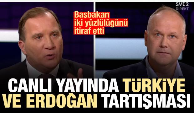 Canlı yayında Türkiye ve Erdoğan tartışması! Başbakan itiraf etti