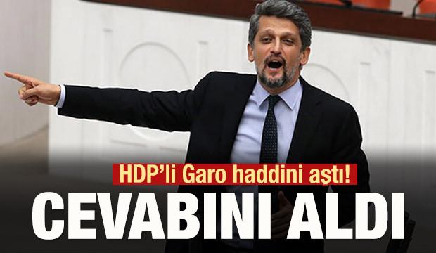 HDP'li Garo haddini aştı! Cevabını aldı