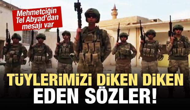 Mehmetçik'ten tüyleri diken diken eden mesaj