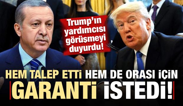 Pence duyurdu: Trump Erdoğan ile görüşüp talep etti...