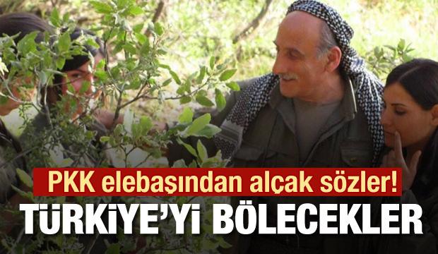 PKK elebaşı Duran Kalkan'dan alçak sözler! Amerika, Türkiye'yi bölecek