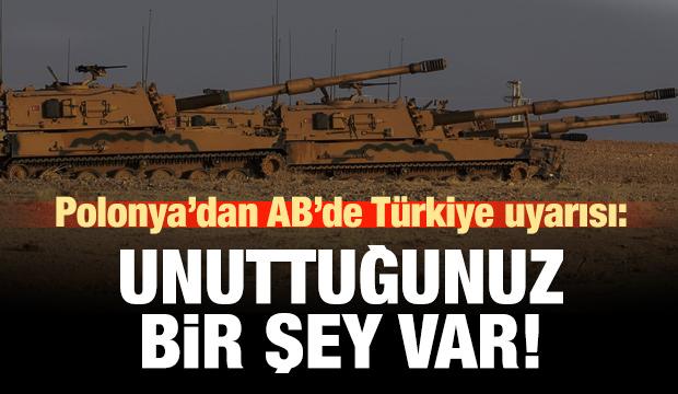 Polonya'dan AB'de Türkiye yorumu: Unutmamamız gereken bir şey var!