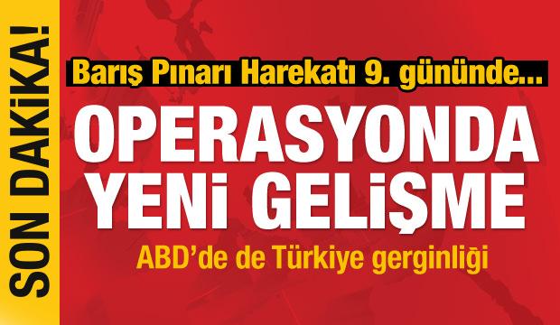 Barış Pınarı Harekatı'nda son dakika: Dumanlar yükseliyor