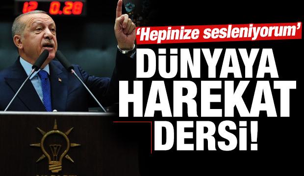 Son dakika haber: Erdoğan 'Hepinize sesleniyorum' diyerek resti çekti