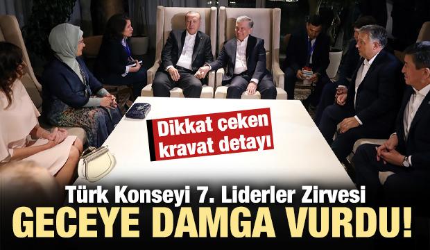 Türk Konseyi 7. Liderler Zirvesi'ne damga vuran fotoğraflar