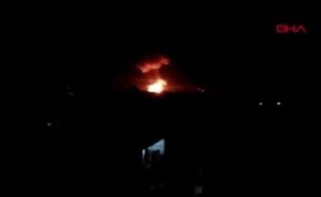 Suriye'de rejime ait 12 noktada peş peşe patlamalar