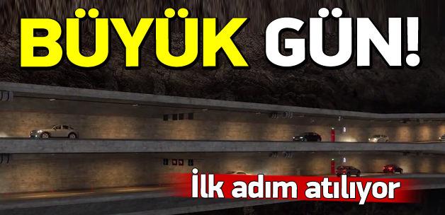 İstanbul'u rahatlatacak dev projede ilk adım