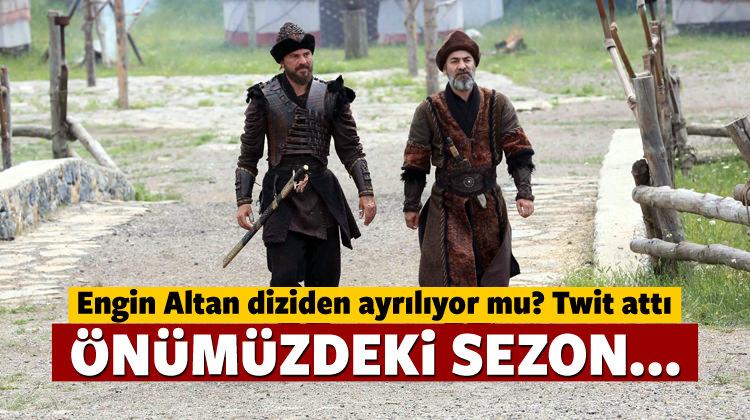 Engin Altan'dan Diriliş twiti: Gelecek sezon...