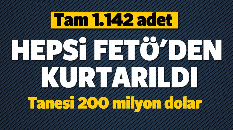 Özhaseki: 1.142 tanesi FETÖ'den kurtarıldı