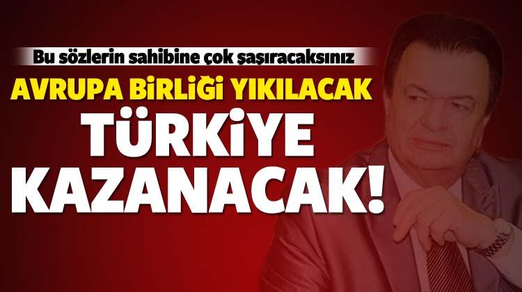 Meinel: Avrupa Birliği yıkılacak Türkiye kazanacak