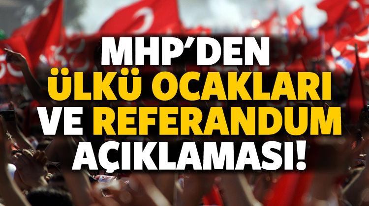 MHP'de ayrışma yok!